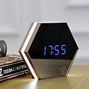 baratos Relógios de Parede-Despertador Digital Plásticos LED 1 pcs