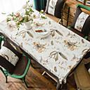 זול וילונות חלון-עכשווי יום יומי סיבי פוליאסטר ריבוע Cube כיסויי שולחן אחיד פרחוני מעוטר ידידותי לסביבה עמיד במים פרח לוח קישוטים