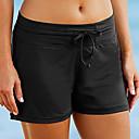 ราคาถูก ชุดดำน้ำ-สำหรับผู้หญิง กางเกงว่ายน้ำ Elastane ด้านล่าง ระบายอากาศ การว่ายน้ำ กีฬาทางน้ำ ลายต่อ ฤดูร้อน