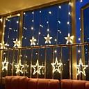 povoljno Božićni ukrasi-2.5m 138 leds ledenica vodio zvijezda vila svjetla božićni vijenac zavjese niz svjetla zvijezda svjetiljka svatove nove godine ukras