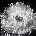 olcso LED szalagfények-20 m 66 láb hosszú, 200 lábú fényszórók, dip led időjárásálló dekoratív világítás hálószoba teraszához beltéri kültéri otthon gyerekszoba karácsonyfa ünnepi party