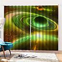 Χαμηλού Κόστους Έξυπνο Φως LED-3d ψηφιακή εκτύπωση σύγχρονη ιδιωτικότητα δύο πάνελ κουρτίνα για τα κορίτσια δωμάτιο δωμάτιο διακοσμητικά κουρτίνες