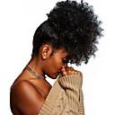 povoljno Ekstenzije od ljudske kose-Isječak U / S Konjski repići Prilagodljiv / Za crnkinje / 100% Djevica Remy kosa / Netretirana  ljudske kose Kose za kosu Ugradnja umetaka Kovrčav Cijelom dužinom Božićni pokloni / Dnevni Nosite
