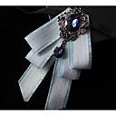 זול אביזרים לגברים-עניבת פפיון - אחיד / קולור בלוק מסיבה בגדי ריקוד גברים / בנים