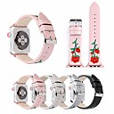 billige Wall Tapestries-floral smartwatch band for Apple Watch serien 4/3/2/1 klassisk spenne pu iwatch stropp