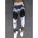 Χαμηλού Κόστους Ρούχα τρεξίματος-Γυναικεία Αθλητικό Γκέτα - Γεωμετρικό, Στάμπα Ψηλή Μέση Λευκό Μαύρο M L XL / Λεπτό