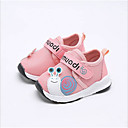 ราคาถูก รองเท้าผ้าใบเด็ก-เด็กผู้ชาย / เด็กผู้หญิง สำหรับการเดินครั้งแรก ตารางไขว้ รองเท้าผ้าใบ เด็กทารก สีเทา / ฟ้า / สีชมพู ฤดูร้อน
