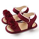 baratos Lembrancinhas Práticas-Para Meninas Primeiros Passos Lona Sandálias Crianças (0-9m) / Criança (9m-4ys) Cinzento / Rosa claro / Vermelho Escuro Verão