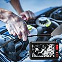 זול אביזרים למקרנים-4.3 אינץ 'אנדוסקופ תעשייתי 8mm borescope 1080p HD מיקרו מצלמה בדיקה עם כבל קשה עבור מנוע מנוע בדיקה