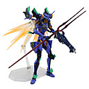 זול דמויות אקשן של אנימה-נתוני פעילות אנימה קיבל השראה מ NeonGenesis Evangelion D.Va PVC 17 cm CM צעצועי דגם בובת צעצוע