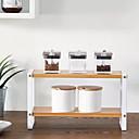 זול טסטרים וגלאים-איכות גבוהה עם עץ אביזרי הקבינט עבור כלי בישול מִטְבָּח אִחסוּן 2 pcs