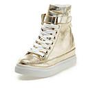 ราคาถูก รองเท้าผ้าใบผู้หญิง-สำหรับผู้หญิง รองเท้าผ้าใบ Hidden Heel Synthetics ฤดูใบไม้ผลิ & ฤดูใบไม้ร่วง สีทอง / สีเงิน