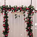 olcso Művirágok-Művirágok 1 Ág Klasszikus Falra szerelhető Esküvő Európai Rózsák Örök Virágok Virágdekoráció