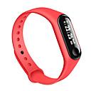 זול חכמים wristbands-m3 חכם צמיד bt tracker תמיכה להודיע / ecg + ppg / מדידת לחץ דם ספורט חכם שעון לסמסונג / iphone / אנדרואיד טלפונים