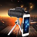 baratos Microscópios & Endoscópios-Monocular do hd do monocular do telescópio 40x60 mini para o acampamento ao ar livre da caça