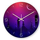 baratos Relógios de Parede-Estilo Moderno Acrílico Redonda Interior / Exterior