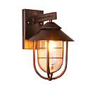 ราคาถูก ไฟLEDแสงอาทิตย์-1pc 5 W ไฟผนังภายนอก Waterproof ขาวนวล 85-265 V เอ๊าท์ดอร์ / ลาน / สวน 1 ลูกปัด LED