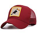 זול קסדות ומסכות-כל העונות אודם כובע בייסבול פרחוני כותנה אקריליק עבודה בסיסי יוניסקס