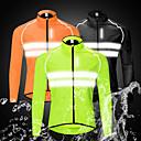 Χαμηλού Κόστους Παντελόνια, Σορτσάκια, Κολάν Ποδηλασίας-WOSAWE Ανδρικά Μπουφάν ποδηλασίας Ποδήλατο Αντιανεμικά Μπολύζες Αδιάβροχη Αντιανεμικό Αναπνέει Αθλητισμός Μαύρο / Πορτοκαλί / Πράσινο Ποδηλασία Βουνού Ποδηλασία Δρόμου Ρούχα Ρουχισμός Ποδηλασίας