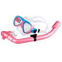 זול סבון כלים-חבילות שנורקל - מסכת צלילה שְׁנוֹרקֶל - מתחת למים שנרקול סיליקון PVC  ל ילדים