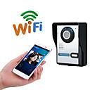 ราคาถูก ระบบ Video Door Phone-wifi ไม่มีหน้าจอ (เอาท์พุทโดยแอพ) wifi / ip ออด hd 1080p กันน้ำออดวิดีโอโทรอินเตอร์คอมฟังก์ชั่นปลดล็อคระยะไกล