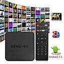 baratos TVs Box-mxq 4k android 7.1 2.4g wi-fi dlna caixa de tv inteligente rk3229 quad core 1g + 8g set-top box media player