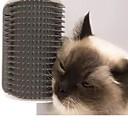 billige Hundepleiemateriell-Hunder Katter Børster Plast Kammer Børster Massasje Kæledyr Pleieutstyr Blå Rosa Grå 1
