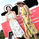 Χαμηλού Κόστους Γυναικείες Μπλούζες-Γυναικεία Δύο Κομμάτι Μαγιό Ελαστίνη Μαγιό Προστασία από τον ήλιο UV Γρήγορο Στέγνωμα Αμάνικο 3 τεμάχια - Κολύμβηση Patchwork Άνοιξη Καλοκαίρι / Υψηλή Ελαστικότητα