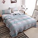 זול שמיכות וכיסויי מיטה-נוֹחַ - 1 יחידה שמיכה קיץ & אביב כותנה משובץ