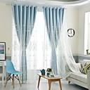 זול דלת חומרה & מנעולים-ארופאי Blackout פאנל אחד וילון & Sheer חדר שינה   Curtains
