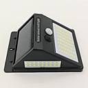 ราคาถูก ไฟติดผนังภายนอก-1pc 10 W โคมไฟติดผนังพลังงานแสงอาทิตย์ Waterproof / พลังงานแสงอาทิตย์ / ตัวเซ็นเซอร์อินฟาเรด ขาวเย็น 3.7 V เอ๊าท์ดอร์ / ลาน / สวน 100 ลูกปัด LED