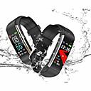 Χαμηλού Κόστους Εξοπλισμός και αξεσουάρ γυμναστικής-KUPENG R1 Γυναικεία Έξυπνο βραχιόλι Android iOS Bluetooth Αδιάβροχη Οθόνη Αφής Συσκευή Παρακολούθησης Καρδιακού Παλμού Μέτρησης Πίεσης Αίματος Θερμίδες που Κάηκαν