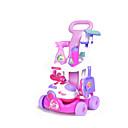 זול אביזרים למטבח-משחקי דמויות מטבח כיור צעצוע שרף ABS ילדים פעוטות כל צעצועים מתנות 9 pcs