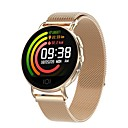 Χαμηλού Κόστους Συνθετικές περούκες χωρίς σκουφί-t7 smartwatch από ανοξείδωτο χάλυβα bt fitness tracker υποστήριξη ειδοποίηση / καρδιακός ρυθμός οθόνη / πίεση αίματος σπορ έξυπνο ρολόι για τα τηλέφωνα samsung / iphone / android