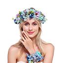 Χαμηλού Κόστους 3D κουρτίνες-Φανέλα / Κράμα Κεφαλές με Φλοράλ 1 δέσμη Γάμου / Ειδική Περίσταση Headpiece