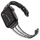 billige Såpekopper-smartwatch for Apple Watch serien 4/3/2/1 Apple moderne spenne rustfritt stål håndleddsstropp
