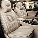 ราคาถูก หมอนอิงในรถ-Car Seat Covers ชุดเบาะรองศีรษะและเอว ผ้าขนสัตว์สีธรรมชาติ / สีเทา / กาแฟ หนัง กีฬา สำหรับ Universal