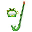 billige Hundeklær-Dykkermasker Under vann Enkelt vindu - Svømming Silikon - Til Barn Grønn / Anti-Tåke