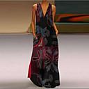 baratos Clutches & Bolsas de Noite-Mulheres Boho balanço Vestido Longo