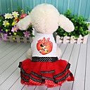זול בגדים לכלבים-שמלות בגדים לכלבים דמות תחרה נסיכות סגול אדום כותנה תחפושות עבור אביב קיץ שמלות וחצאיות סגנון חמוד