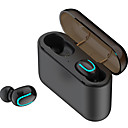 cheap TWS True Wireless Headphones-LITBest Q32 TWS True Wireless Earbuds Bluetooth 5.0 In Ear Earphone Hands Free Call Music with 1500mAh Battery Charging Box Power Bank for Smartphone