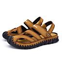 ราคาถูก รองเท้าและอุปกรณ์เสริม-สำหรับผู้ชาย รองเท้าเดินป่า ระบายอากาศ สบาย เดินทาง เดินเท้า ฤดูร้อน สีดำ สีน้ำตาล สีน้ำตาลผสมสีเทา