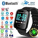 billige Smart armbånd-a6s smart armbåndsur pulsmåler blodtrykksaktivitet fitness tracker armbånd smart band for ios android