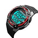 זול Skin Care-SKMEI®1203 איש אישה חכמים שעונים Android iOS WIFI עמיד במים ספורטיבי המתנה ארוכה Smart Alarm Clock לוח שנה אזור זמן כפול