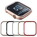 זול רכב הגוף קישוט והגנה-מגן עבור Apple Apple Watch Series 4 / Apple Watch Series 4/3/2/1 / Apple Watch Series 3 מתכת Apple