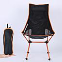 Χαμηλού Κόστους Έπιπλα Κατασκήνωσης-Πτυσσόμενη καρέκλα κάμπινγκ Υψηλή πλάτη με προσκέφαλο Αναπνέει Πολύ Ελαφρύ (UL) Πτυσσόμενο Άνετο Mesh 7075 κράμα αλουμινίου για Κατασκήνωση & Πεζοπορία Ψάρεμα Παραλία Για Υπαίθρια Χρήση