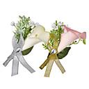 זול שרשראות לגברים-בגדי ריקוד גברים בגדי ריקוד נשים תפס לשיער קלאסי פרח אופנתי סִכָּה תכשיטים לבן /  לבן ורוד בהיר עבור חתונה Party