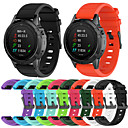 billige Vegglamper-sport silikon armbåndsur watch band armbånd for garmin fenix 5 / fenix 5 pluss / forløper 935 / s60 smart klokke med verktøy