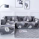 baratos Cobertura de Sofa-Cobertura de Sofa Romântico / Clássico / Contemporâneo Fios Tingidos Poliéster Capas de Sofa