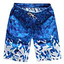 ราคาถูก ชุดดำน้ำ-สำหรับผู้ชาย กางเกงว่ายน้ำ ระบายอากาศ แห้งเร็ว สายผูก - การว่ายน้ำ Surfing ฤดูใบไม้ร่วง ฤดูร้อน / ผสมยางยืดไมโคร